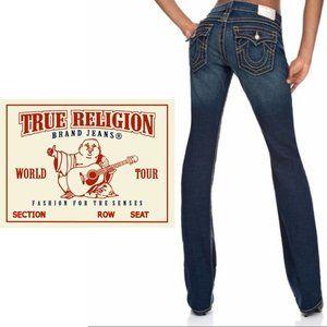 True Religion Disco Billy Big T Straight Jeans - Size 26